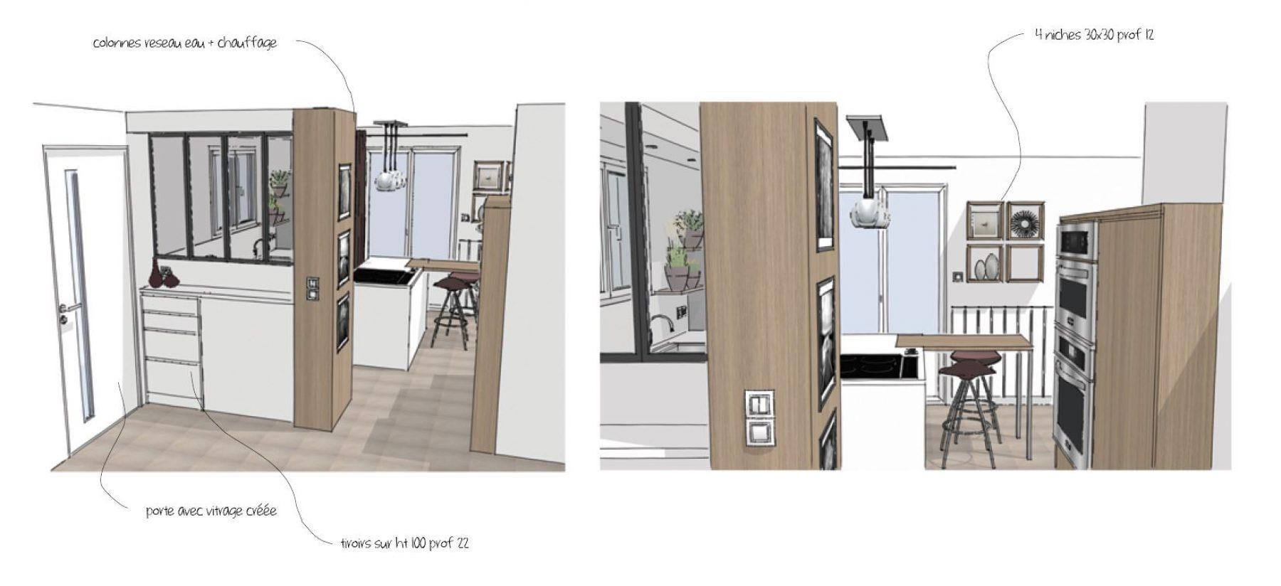 Chez colette cuisine seynod chez colette cuisine seynod for Cuisine 10m2 avec ilot central